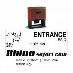 Trodat 4731 Self Inking Stamps 70x30mm