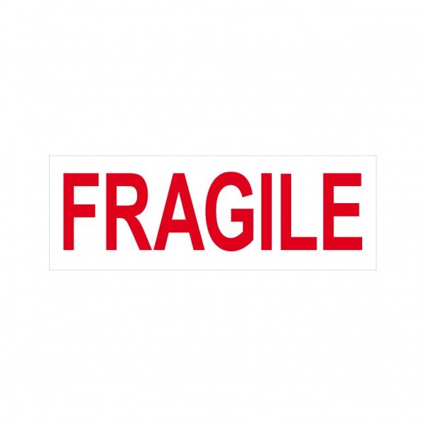 Fragile Stock Stamp 4911/12 38x14mm