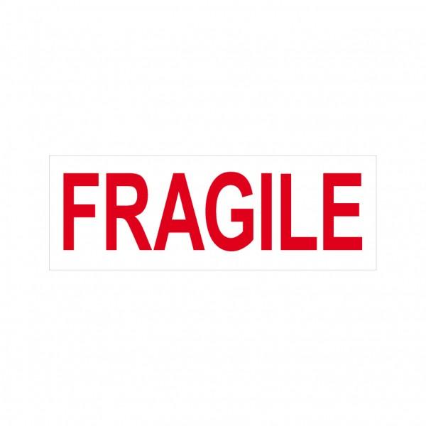 Fragile Stock Stamp 4911/12 38x14mm