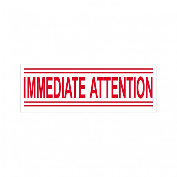 15-IMMEDIATE ATTENTION