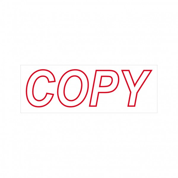 Copy Stock Stamp 4911/2 38x14mm
