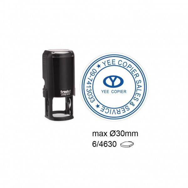 Trodat 4630 Self Inking Stamps 30mm