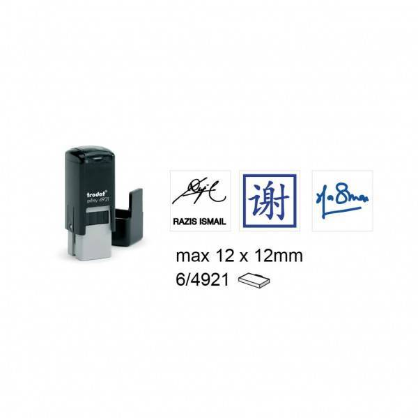 Trodat 4921 Self Inking Stamps 12x12mm