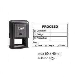 Trodat 4927 Self Inking Stamps 60x40mm
